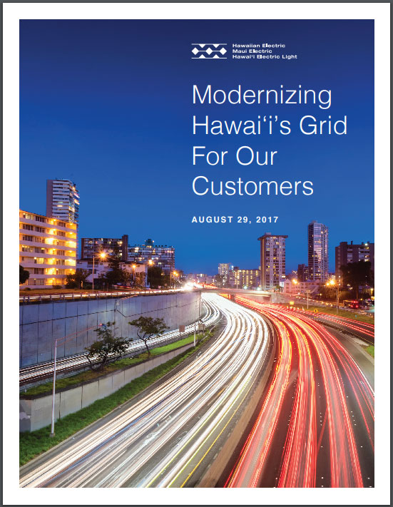Modernizing Hawaiis Grid for Our Customers poster