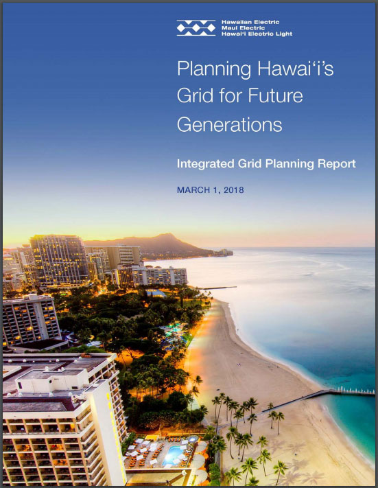 Planning Hawaiis Grid for Future Generations poster