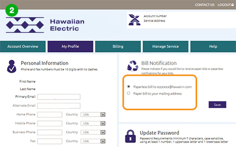 Go Green With Paperless Billing Hawaiian Electric
