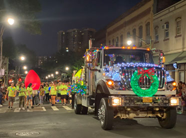 Honolulu Electric Lights Parade 2019