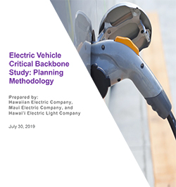 Electric Vehicle Critical Backbone Study