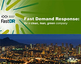 Watch the video: Fast Demand Response Webinar
